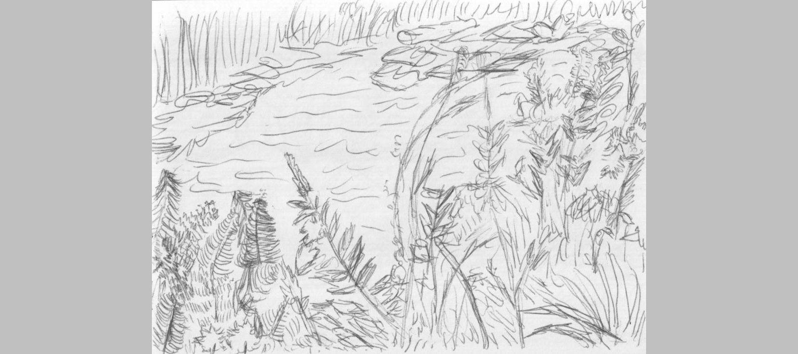Skizze aus Skizzenheft (11, 2012, Format unbekannt)
