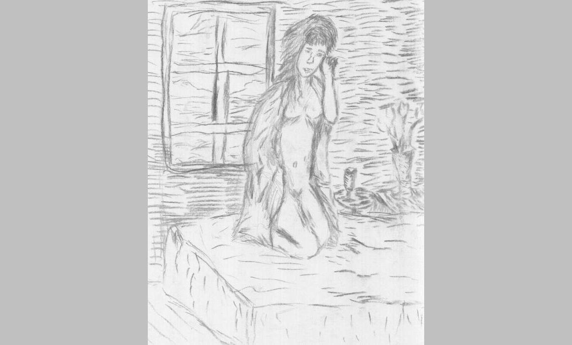 Trauer (2012, 14,8 x 21 cm, A5)