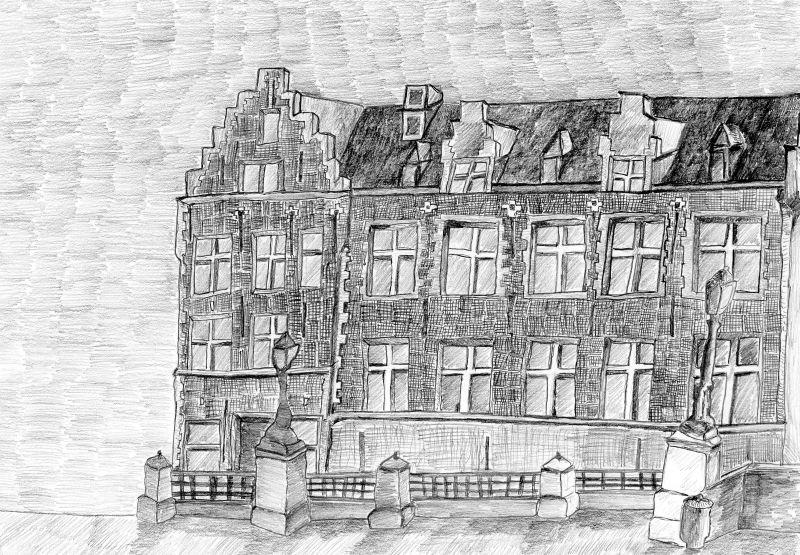 Bleistiftzeichnung (14.05.16, 21 x 29,7 cm, A4)