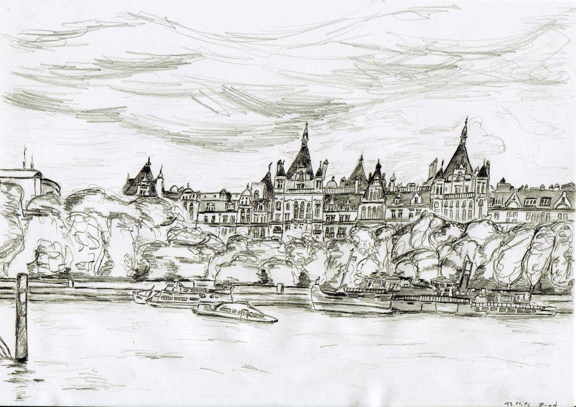 Bleistiftzeichnung (19.11.16, 21 x 29,7 cm, A4)