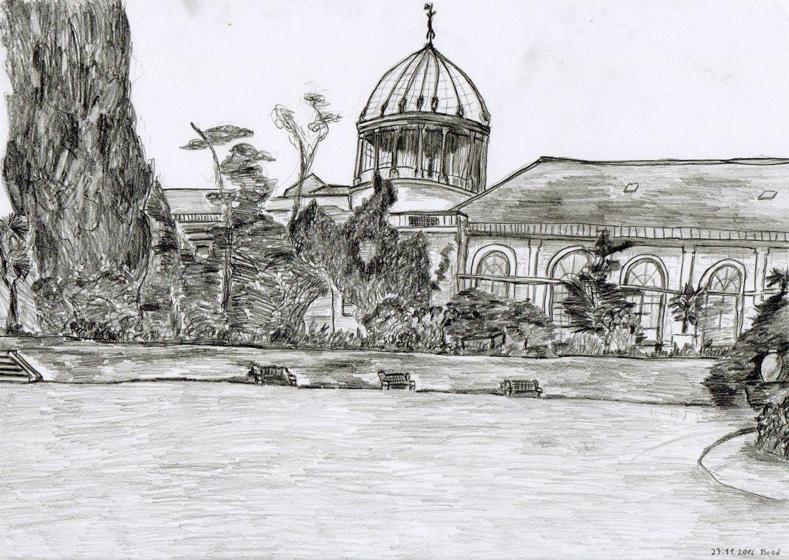 Bleistiftzeichnung (23.11.2016, 21 x 29,7 cm, A4)