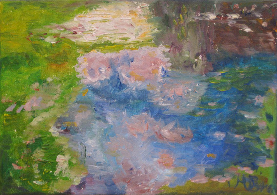 Seerosen (1, 2006, 13 x 18 cm)
