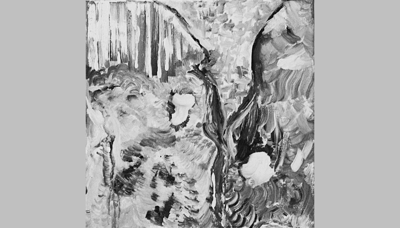 Neugierde (2007, 30 x 30 cm)