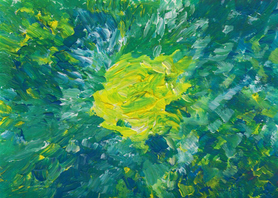 Die Mitte (2012, 14,8 x 21 cm)
