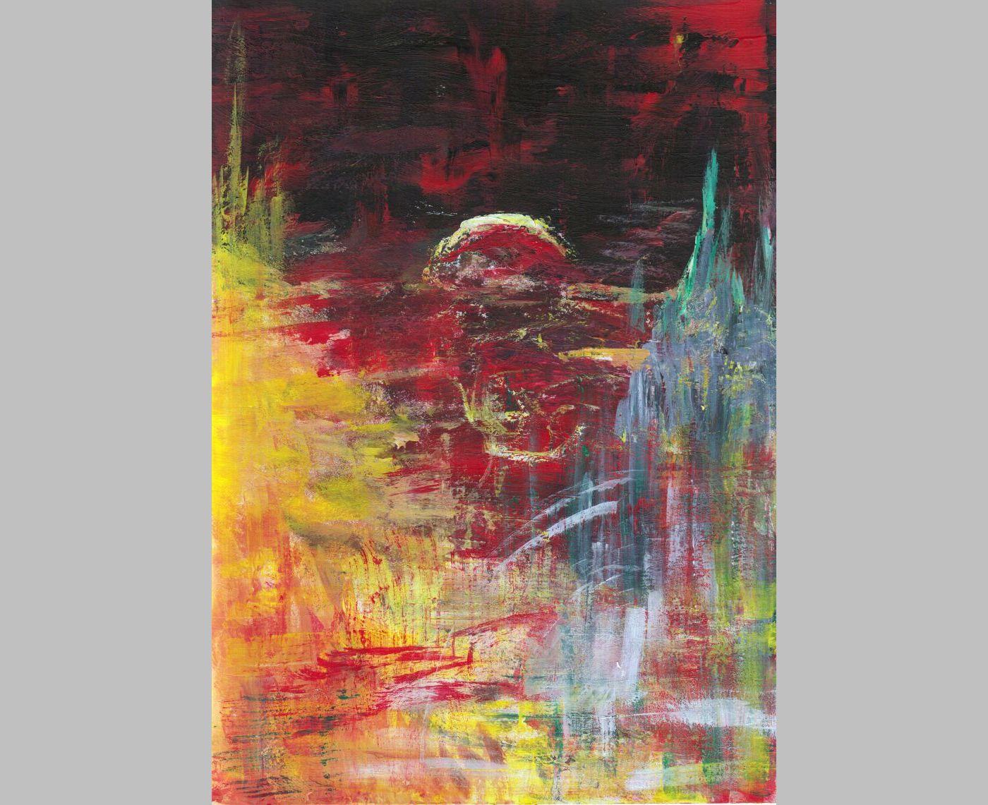Dämmernde Apokalypse (2013, 21 x 29,7 cm, A4)