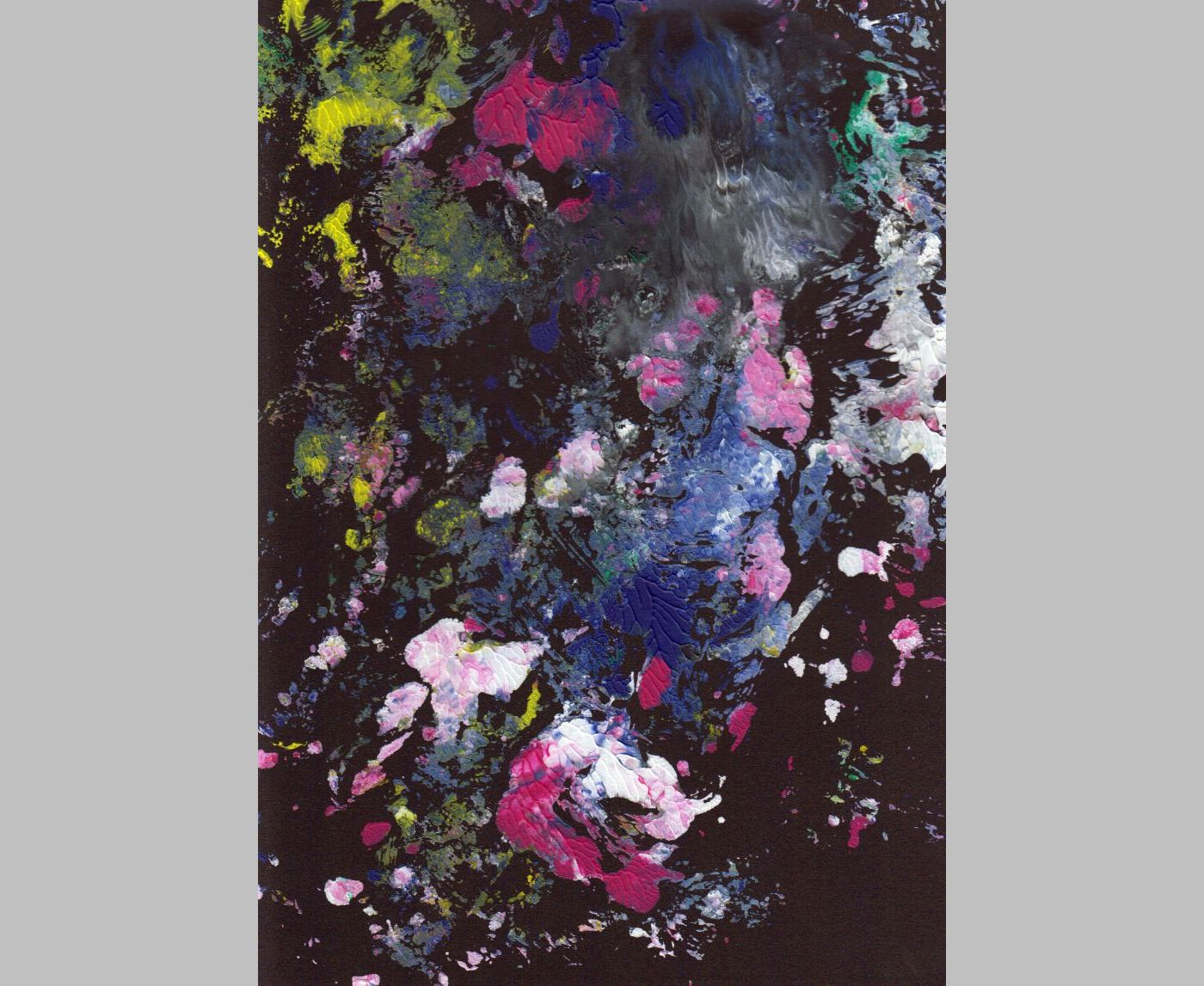 Ohne Titel (Acryl, 3, 2013, 21 x 29,7 cm, A4)