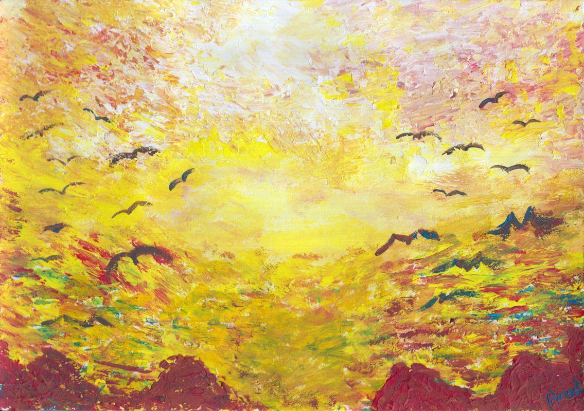 Heaven (2013, 21 x 29,7 cm, A4)