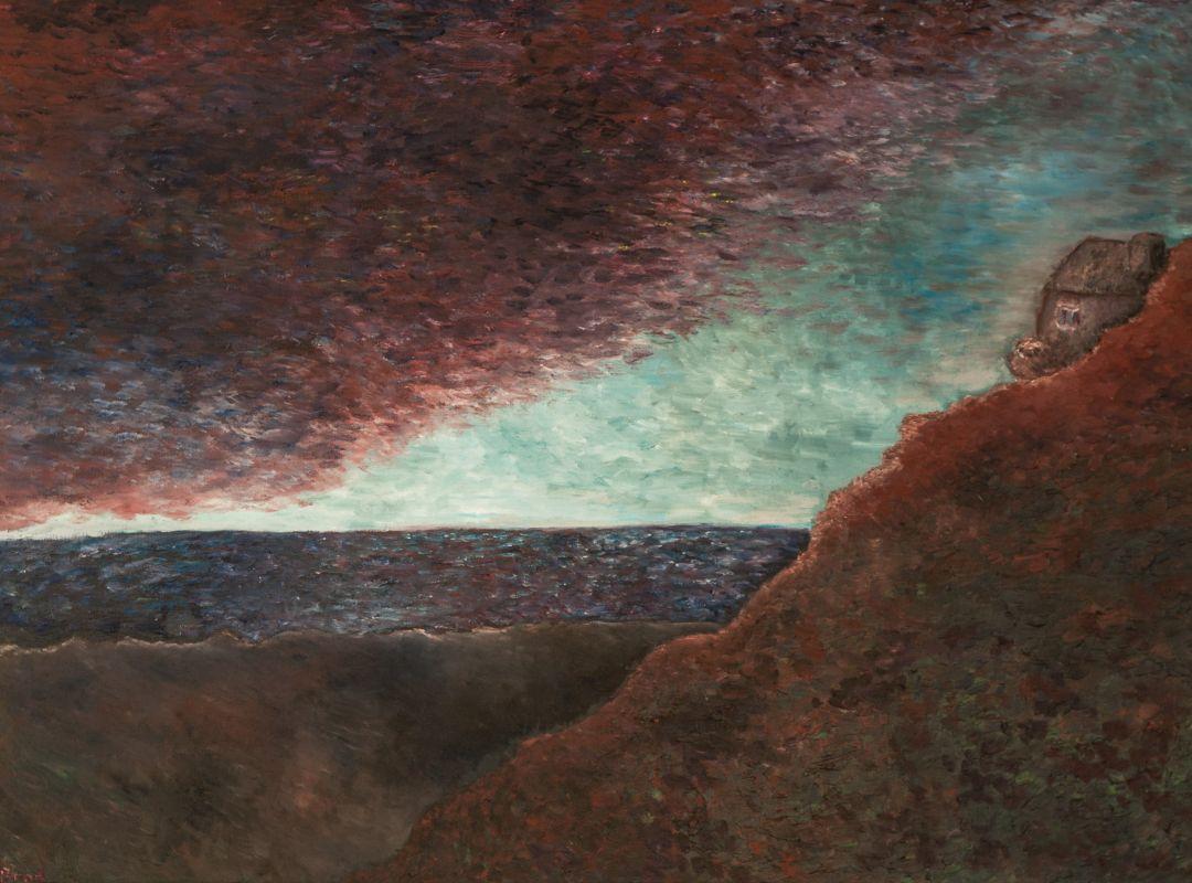 Die Küste (2013, 60 x 80 cm)