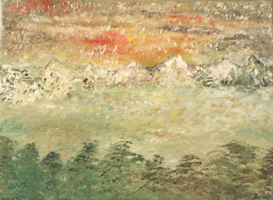 Schneefall (2013, 30 x 40 cm) vergeben
