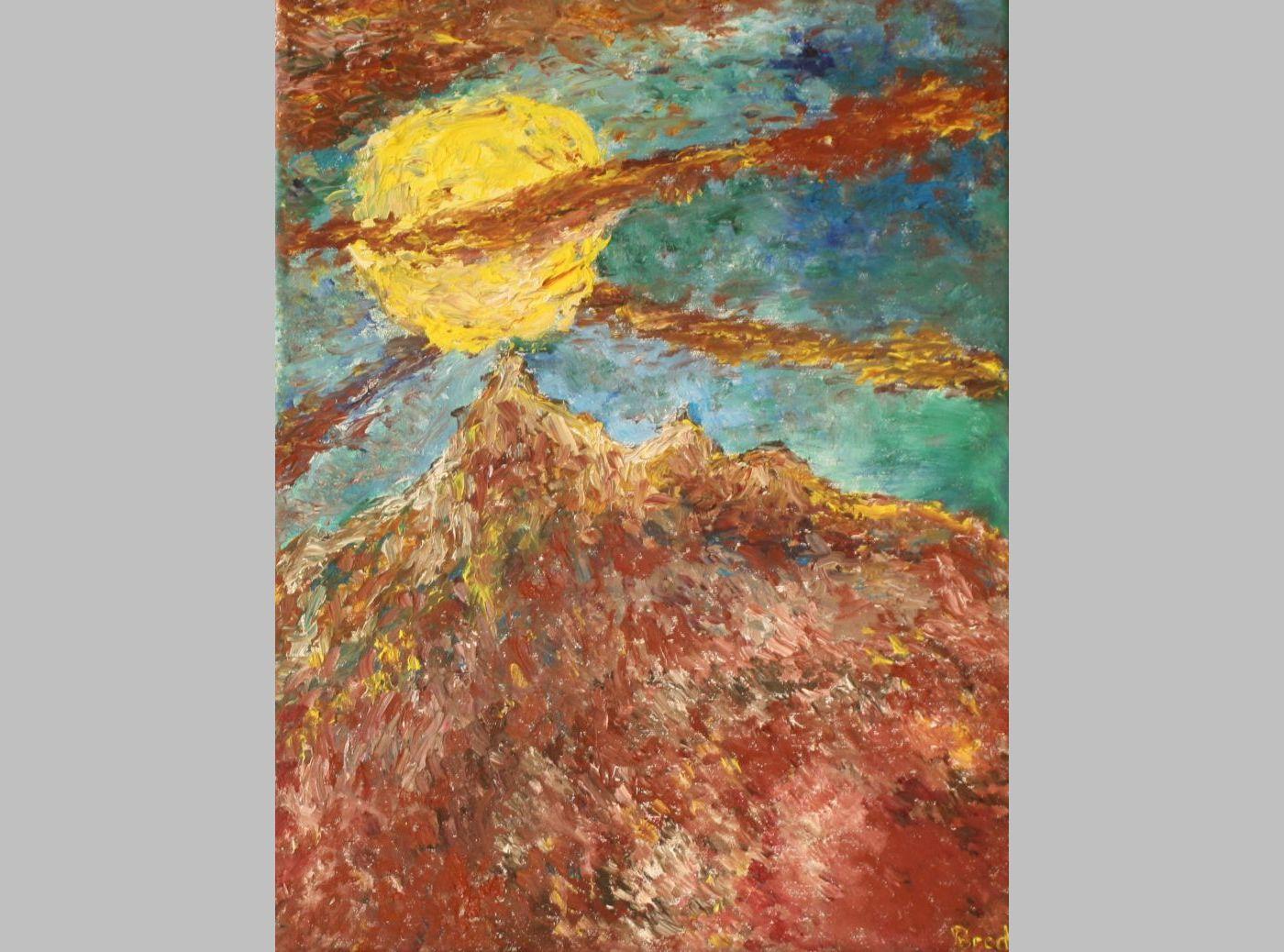 Energien der Nacht (2013, 30 x 40 cm)