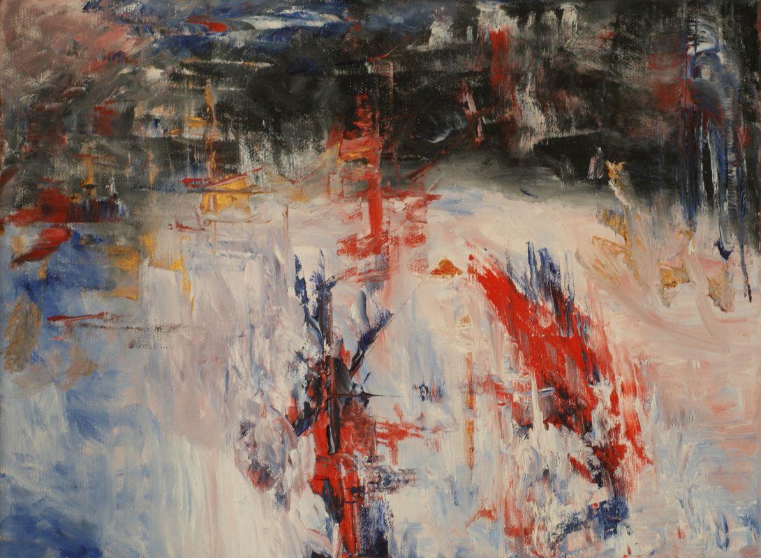Futuristica (2014, 30 x 40 cm)