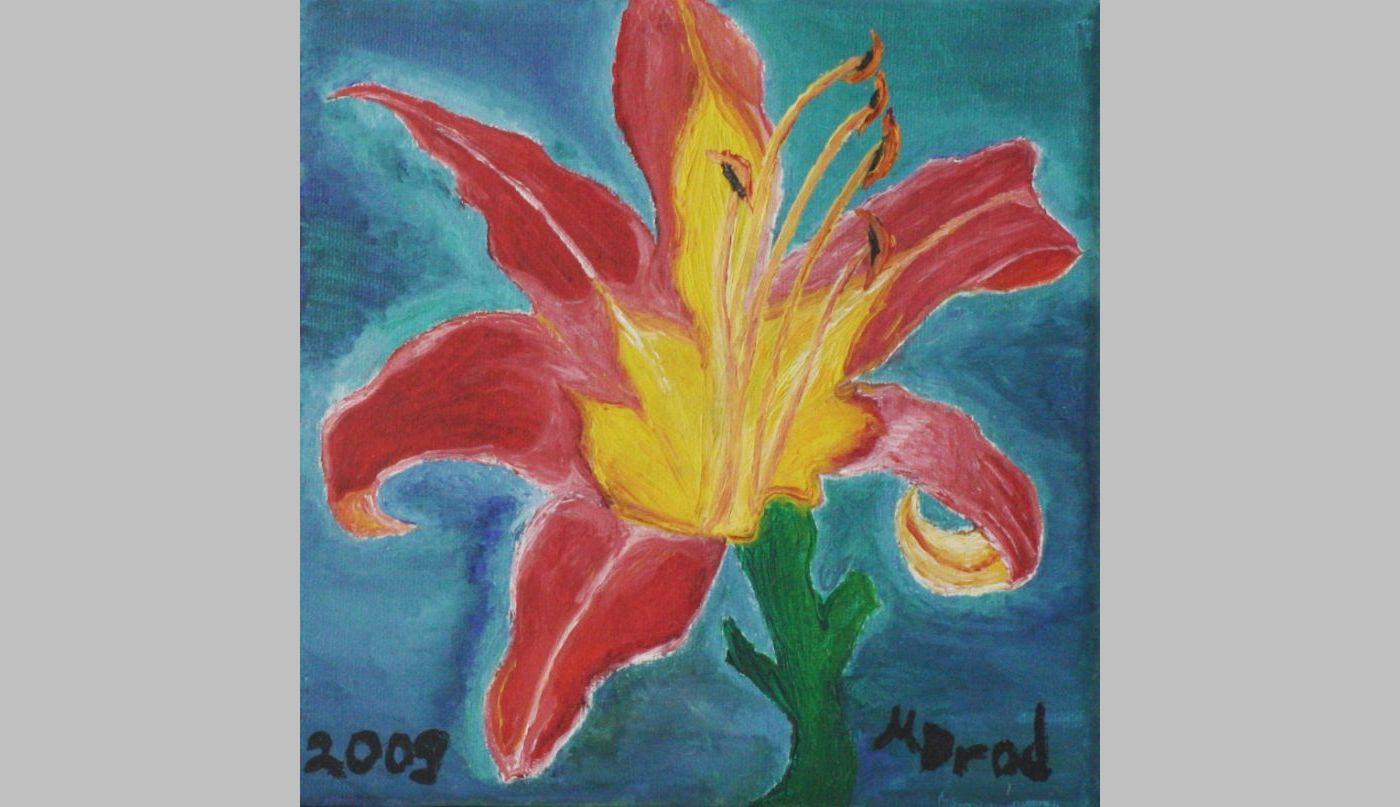 Lilie (2009, 15 x 15 cm) vergeben