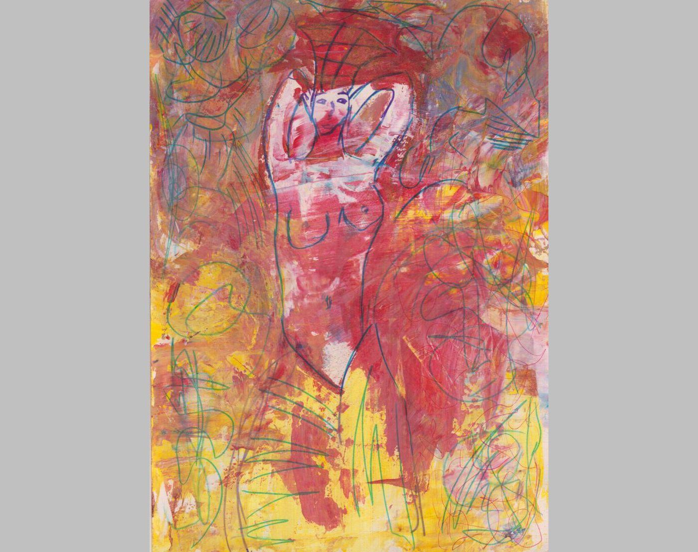Tänzerin (2014, 21 x 29,7 cm, A4)