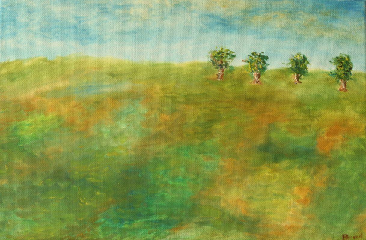 Der Frühling erwacht (2015, 20 x 30 cm)