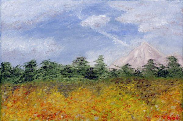 Berg, Wald und Wiese (2016, 20 x 30 cm)