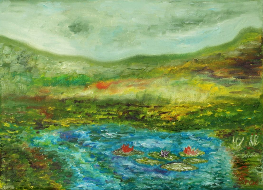 Nach dem Regen (2009, 13 x 18 cm) vergeben