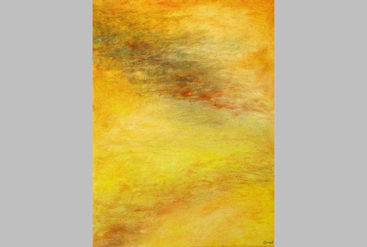 Ewiger Sonnenaufgang (2016, 30 x 40 cm)