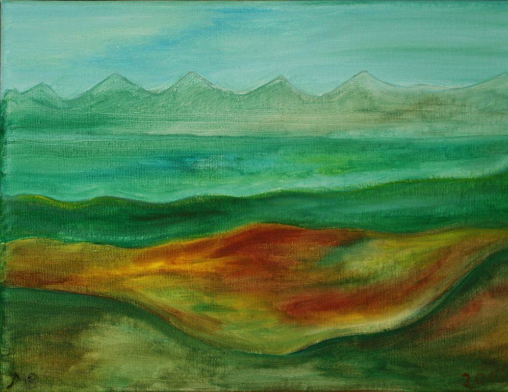 Die Tiefebene (2010, ca. 20 x 24)