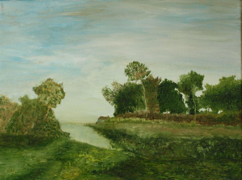 Letztes Idyll (2011, 30 x 40 cm)
