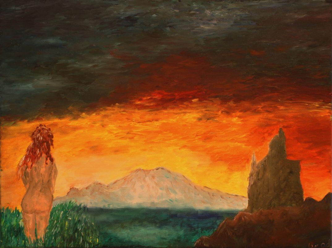 Ein neuer Morgen (2012, 30 x 40 cm)