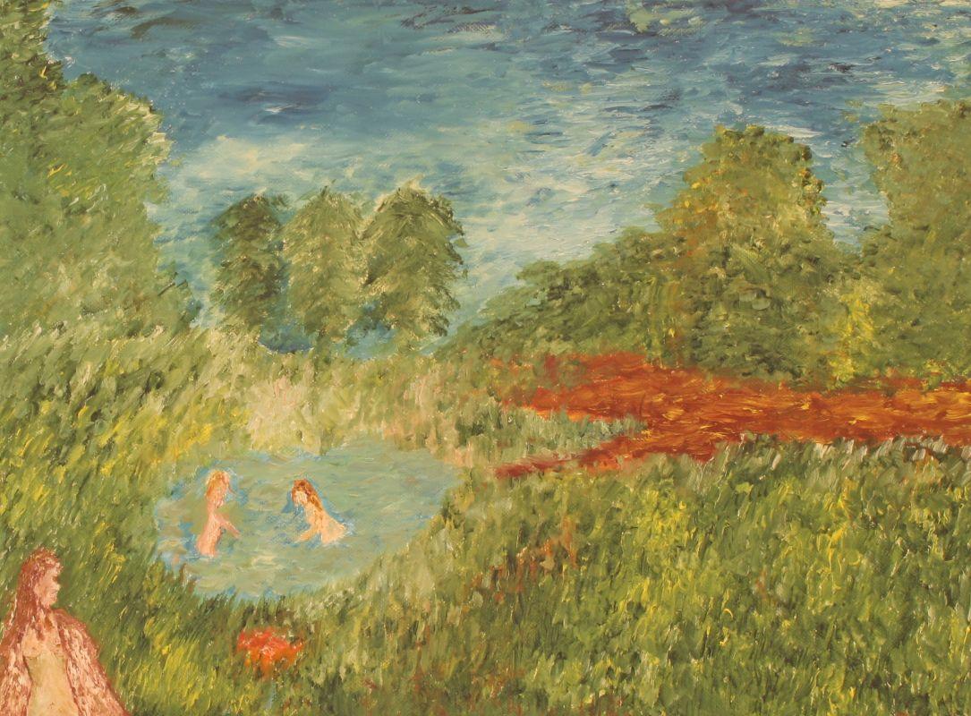 Sommervergnügen (2012, 30 x 40 cm)