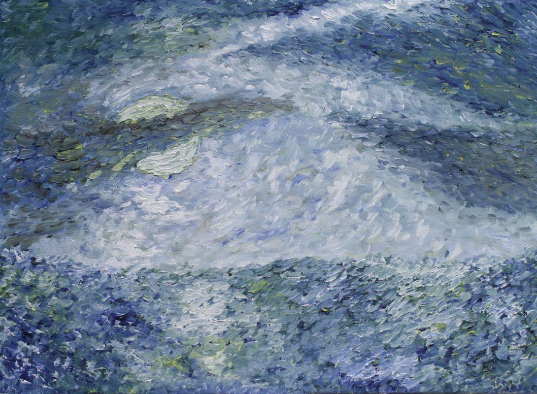Mondsturm (2012, 30 x 40 cm) vergeben