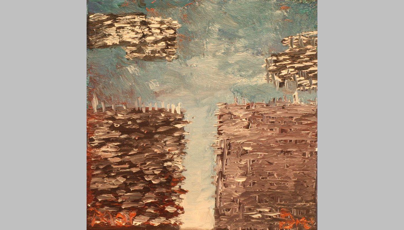 Invasion (2012, 20 x 20 cm)