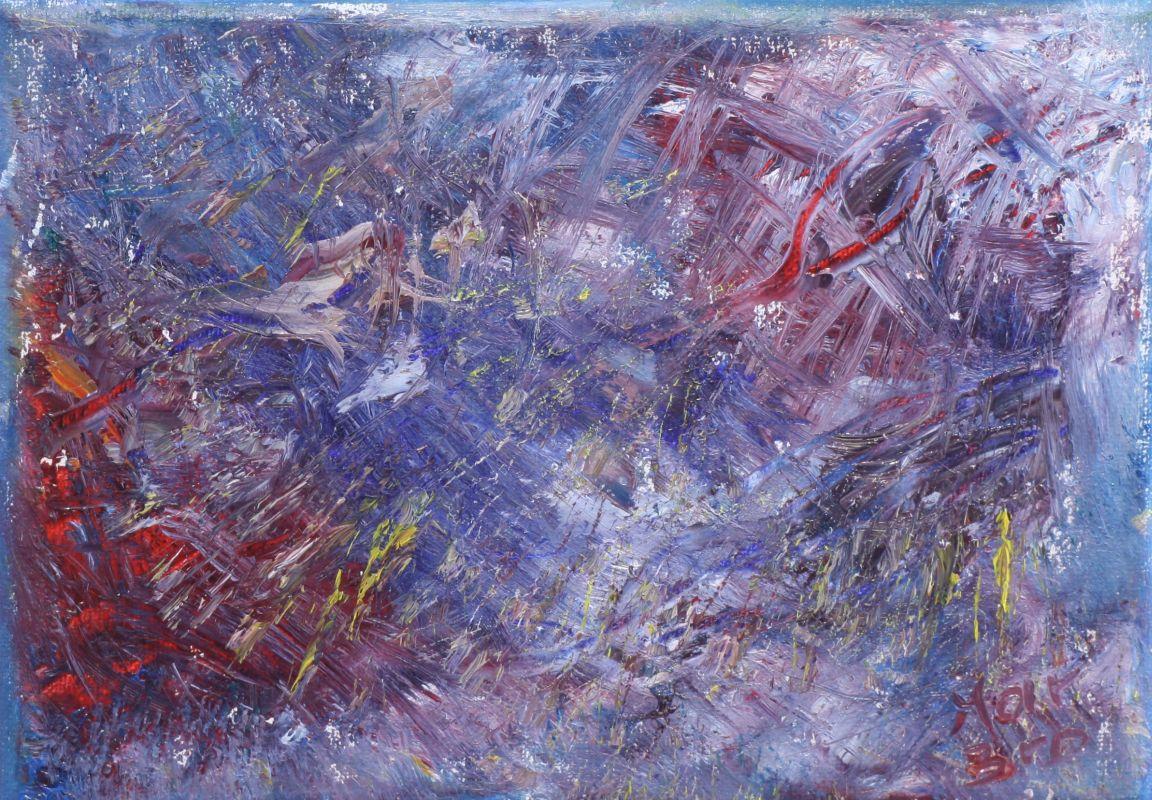 Unbekannte Gefahr (2012, 13 x 18 cm)