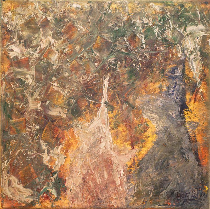 Türme I (2012, 30 x 30 cm)