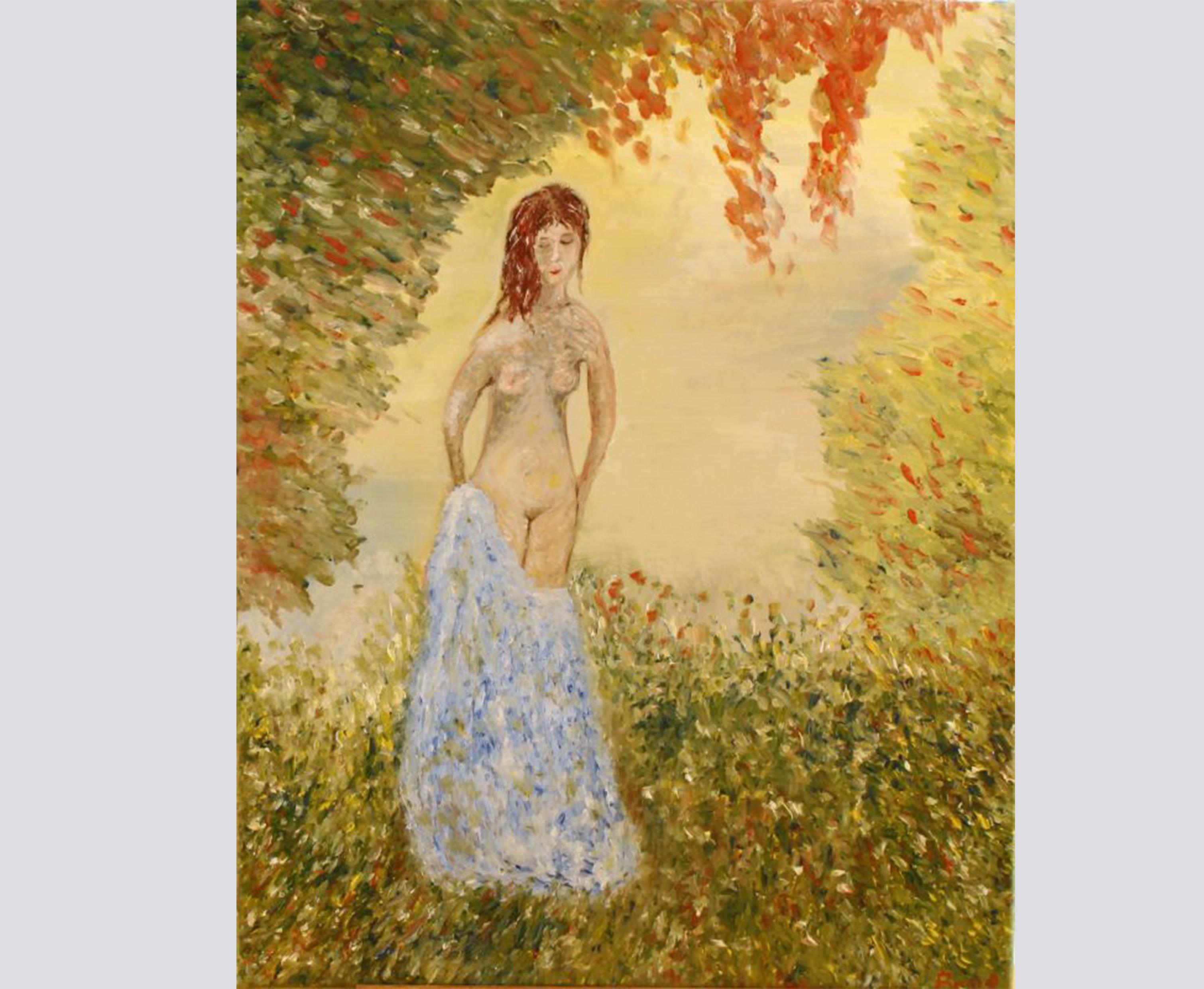 Die Träumerin (2012, 40 x 50 cm)