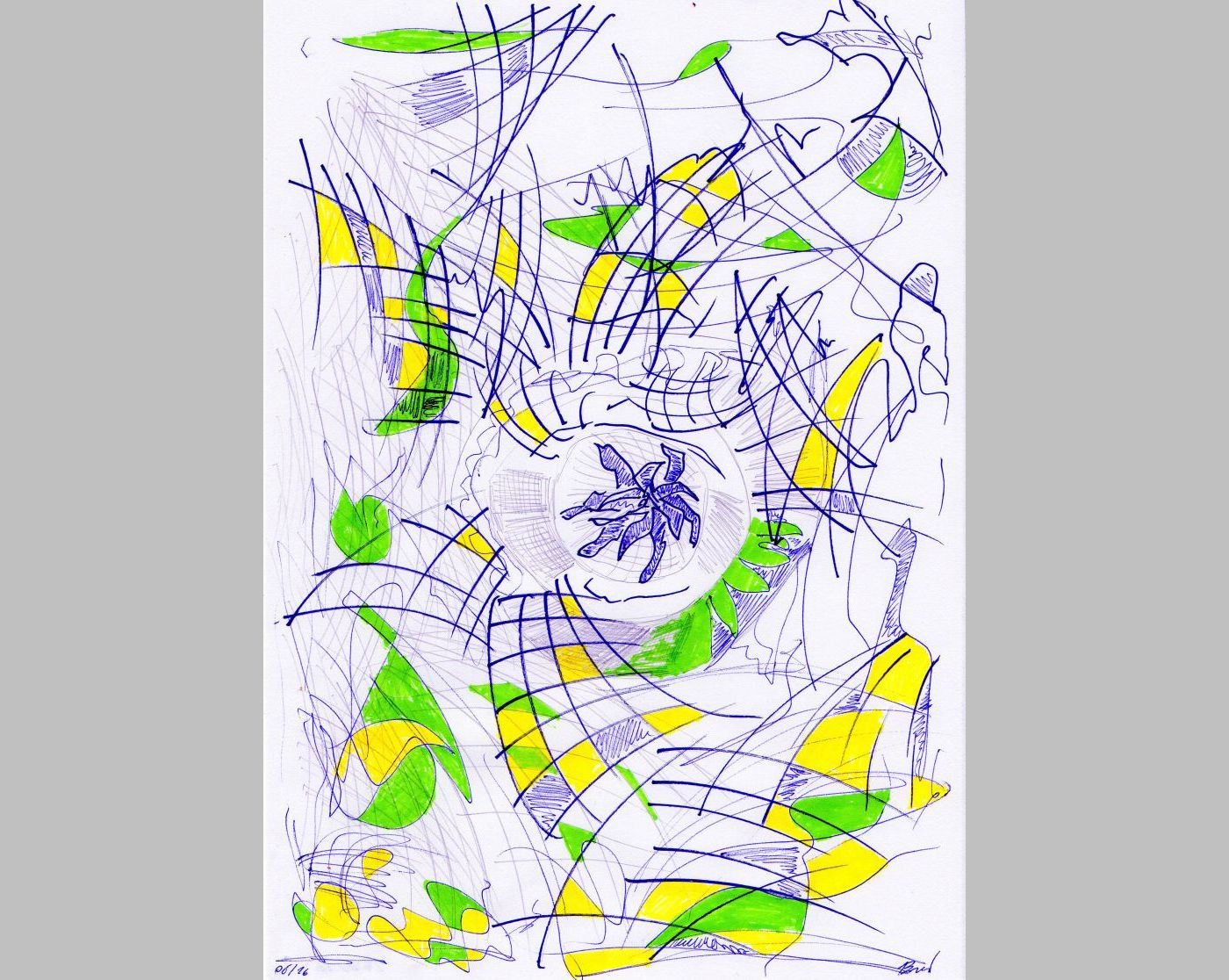 Ohne Titel (28.06.2016, 21 x 29,7 cm, A4)