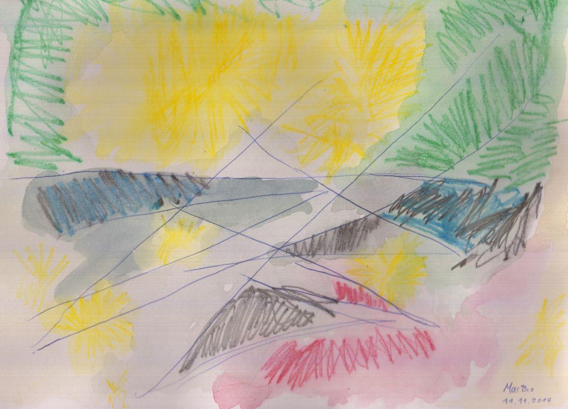 Glühen (11.11.14, 21 x 29,7 cm, A4)